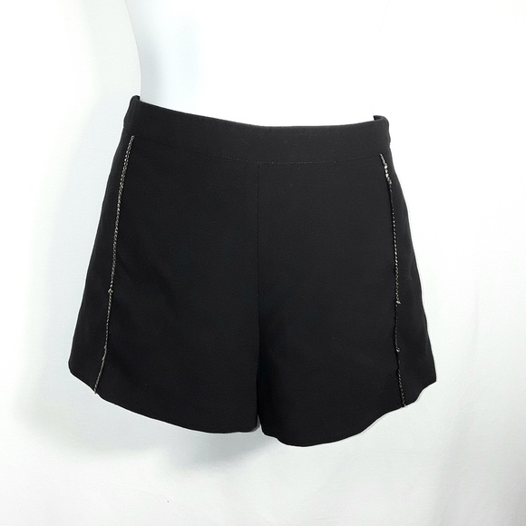 Forever 21 Pants - F21 Black Short Shorts Hot Pants w/ chains